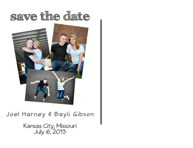Joel & Bayl Save the Date Back