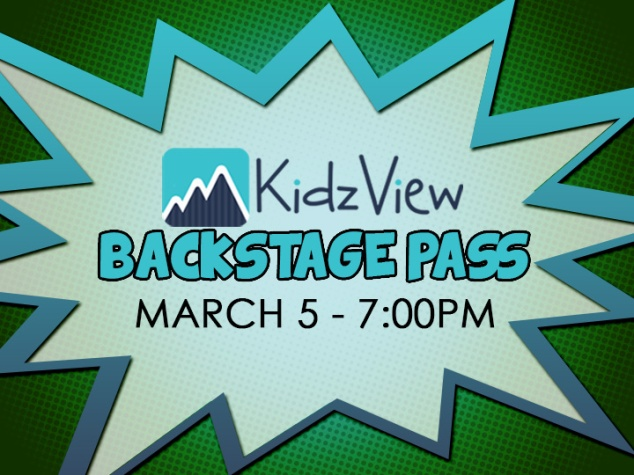 Backstage Pass Slide
