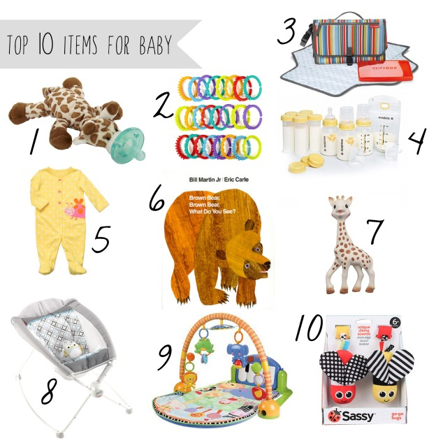 Top 10 Baby Items for 0-6 Months - witandwander.wordpress.com